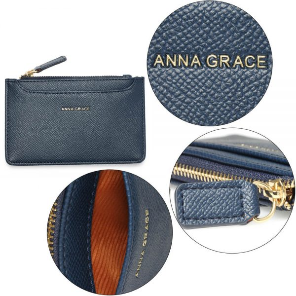 AGP1109 – Navy Anna Grace Zip Coin Pouch_5_