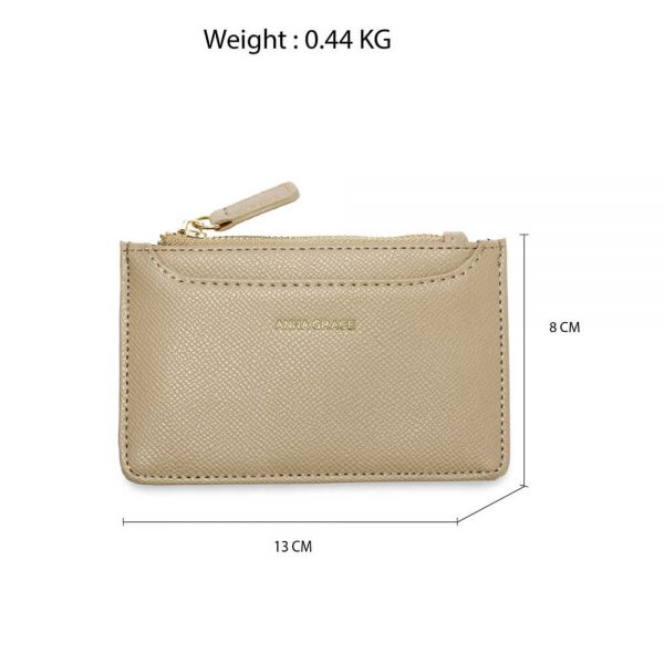 AGP1109 – Nude Anna Grace Zip Coin Pouch_2_