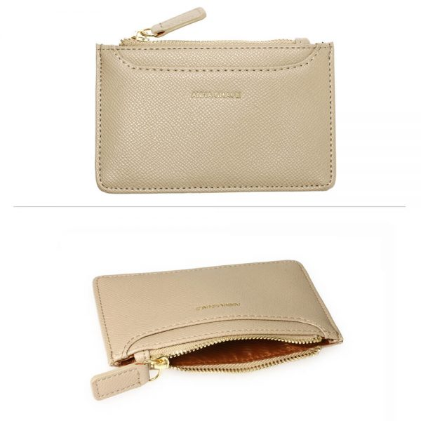 AGP1109 – Nude Anna Grace Zip Coin Pouch_3_