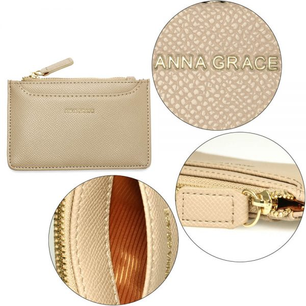 AGP1109 – Nude Anna Grace Zip Coin Pouch_5_