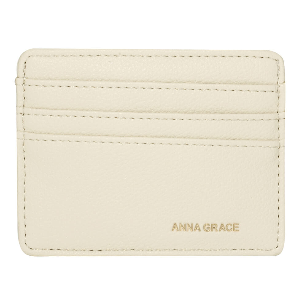 Ivory Anna Grace Card Holder Wallet