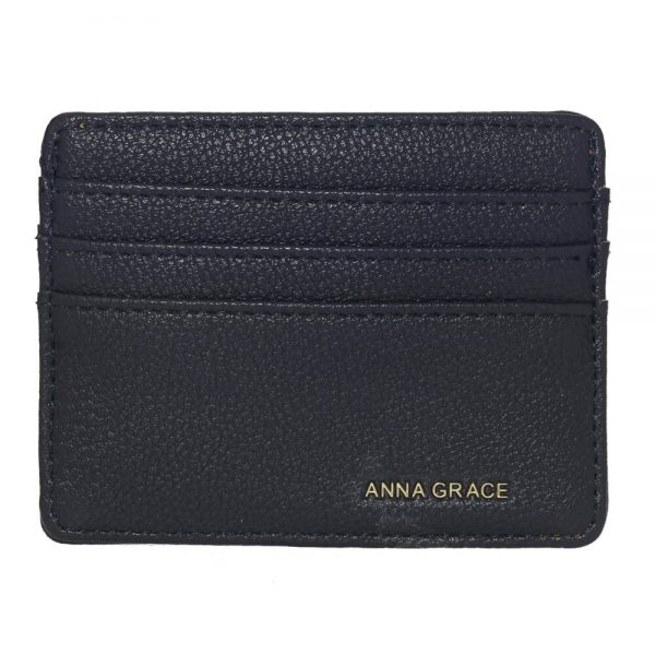 AGP1120 – Navy Anna Grace Card Holder Wallet_1_
