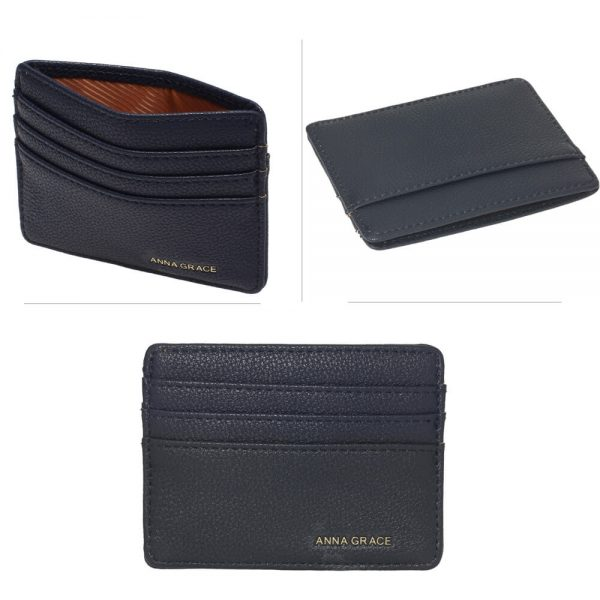 AGP1120 – Navy Anna Grace Card Holder Wallet_3_