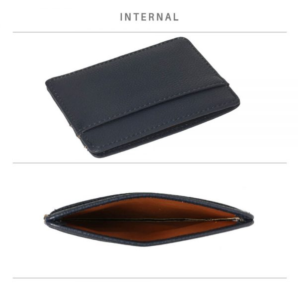 AGP1120 – Navy Anna Grace Card Holder Wallet_4_