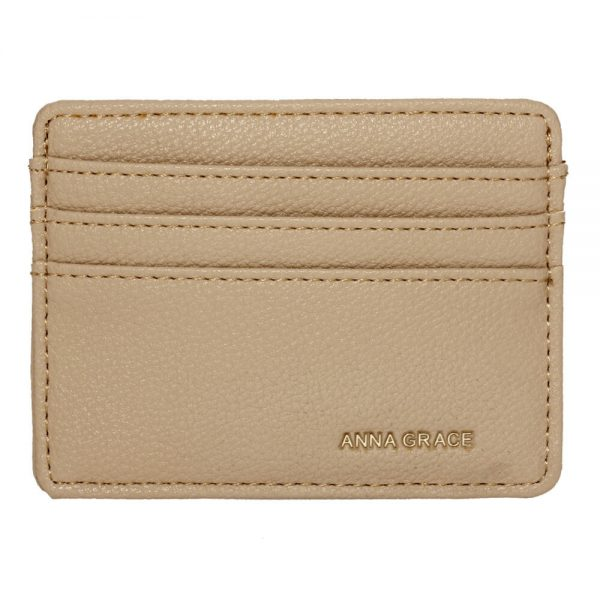 AGP1120 – Nude Anna Grace Card Holder Wallet_1