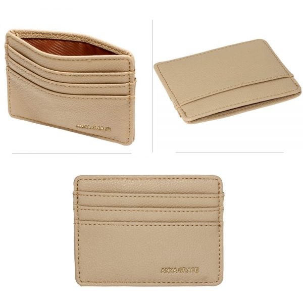 AGP1120 – Nude Anna Grace Card Holder Wallet_3_
