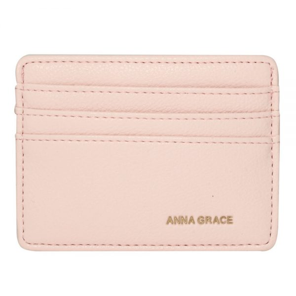 AGP1120 – Pink Anna Grace Card Holder Wallet_1_