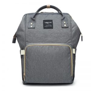 Dark Grey Moms Backpack