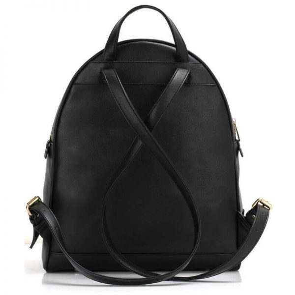 LS00171-BLACK_Backpack Rucksack School Bag_2_