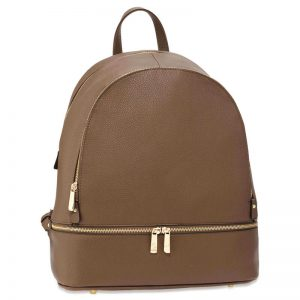 Brown Backpack Rucksack School Bag