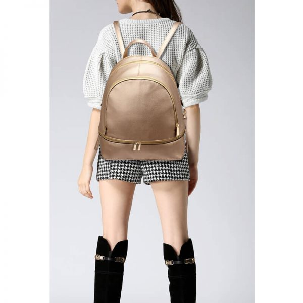 LS00171-Gold_Backpack Rucksack School Bag_6_