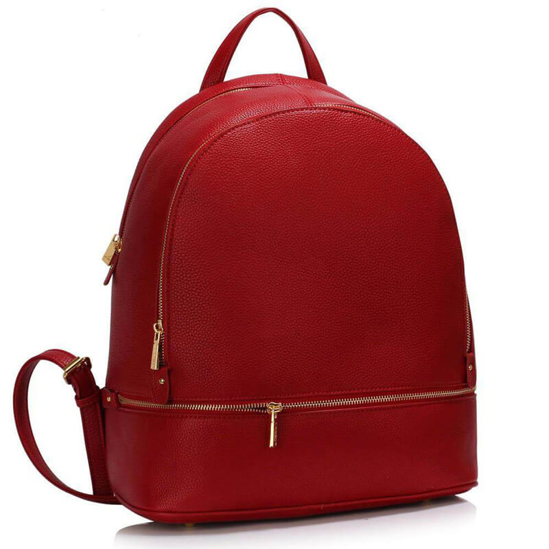Red_Backpack Rucksack School Bag