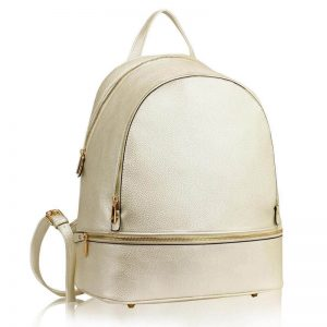 ivory_Backpack Rucksack School Bag