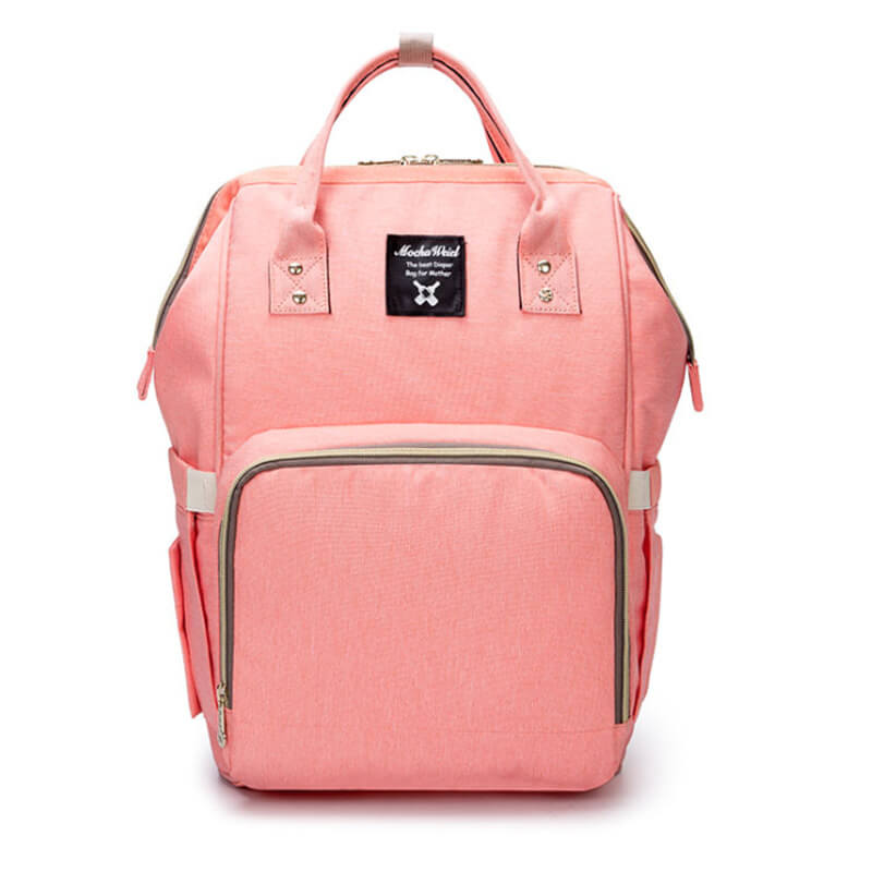 Orange Pink Moms Backpack