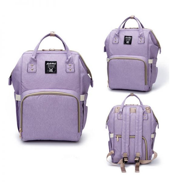 Purple Moms Backpack-