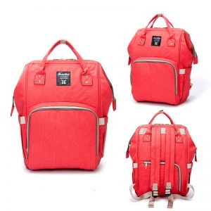 Red Moms Backpack