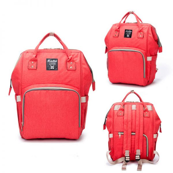 Red Moms Backpack-