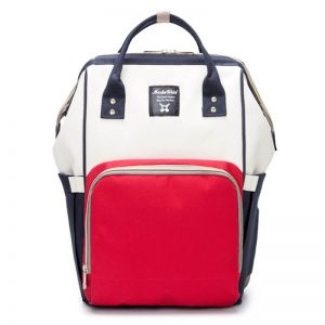 Red White Navy Moms Backpack