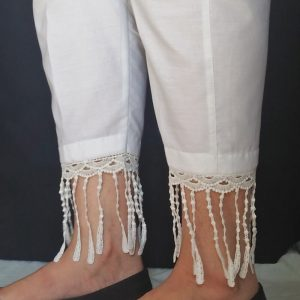 Trouser Pant With bottom Lace