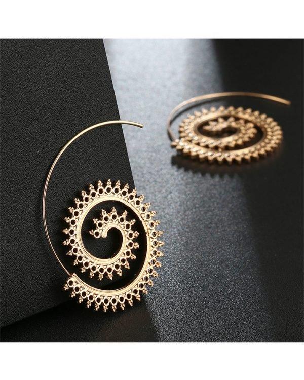 AE18 Hoop Earring – Gold