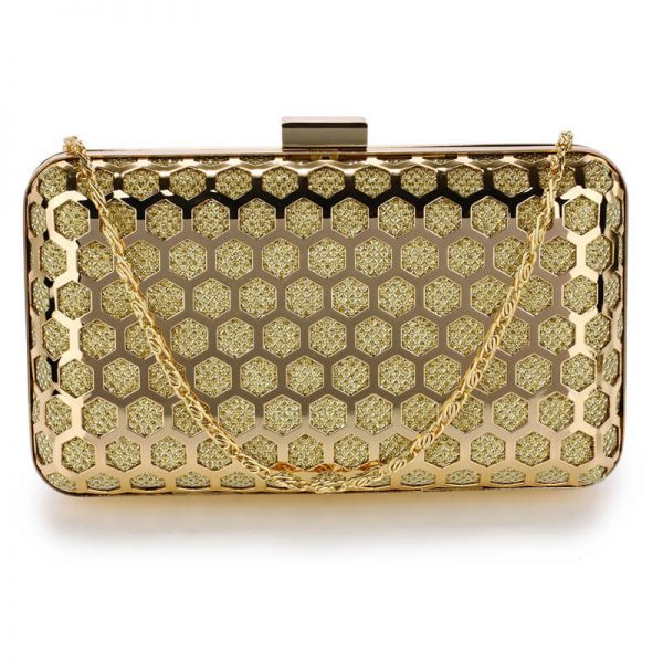 AGC00309 – Gold Luxury Clutch Purse_1_