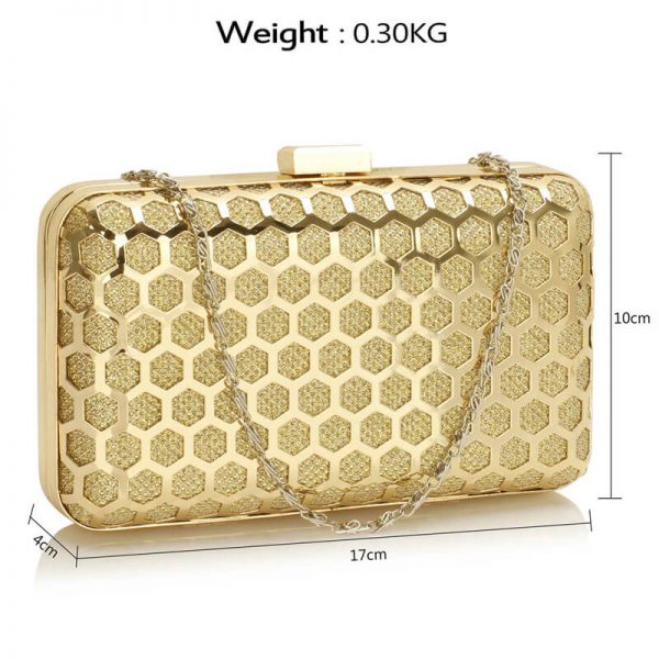 AGC00309 – Gold Luxury Clutch Purse_2_