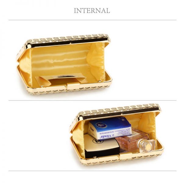 AGC00309 – Gold Luxury Clutch Purse_4_