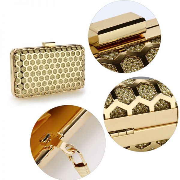 AGC00309 – Gold Luxury Clutch Purse_5_