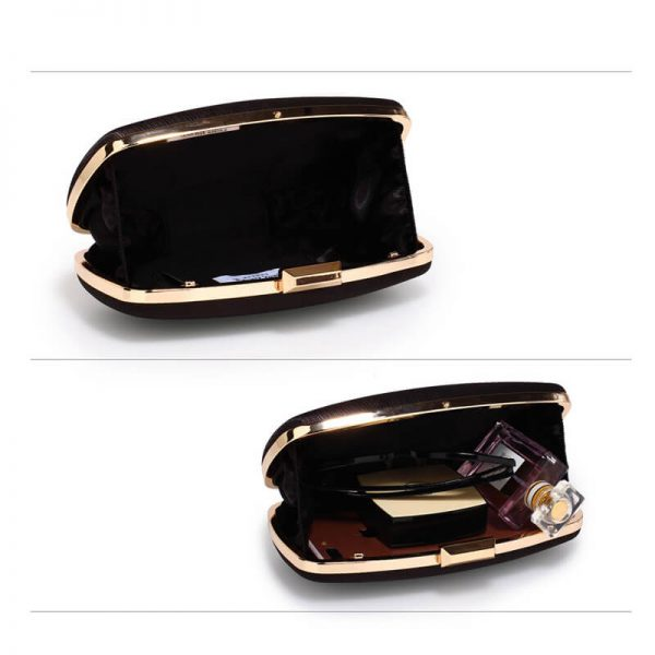 AGC00354 – Black Satin Evening Clutch Bag_4_