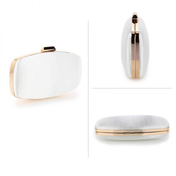 AGC00354 – Ivory Satin Evening Clutch Bag_3_
