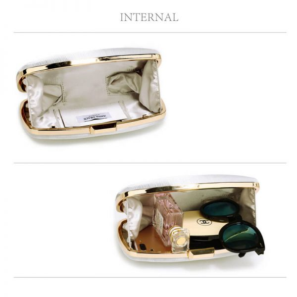AGC00354 – Ivory Satin Evening Clutch Bag_4_