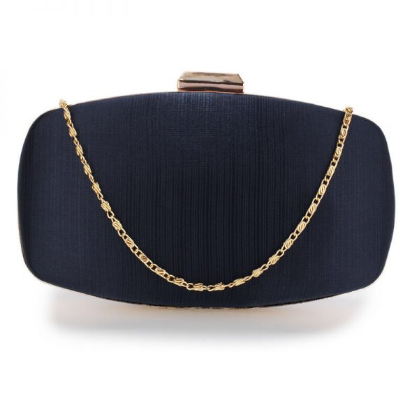 AGC00354 – Navy Satin Evening Clutch Bag_1_