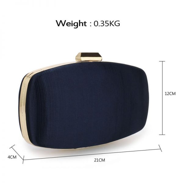 AGC00354 – Navy Satin Evening Clutch Bag_2_