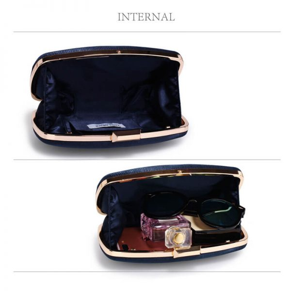 AGC00354 – Navy Satin Evening Clutch Bag_4_