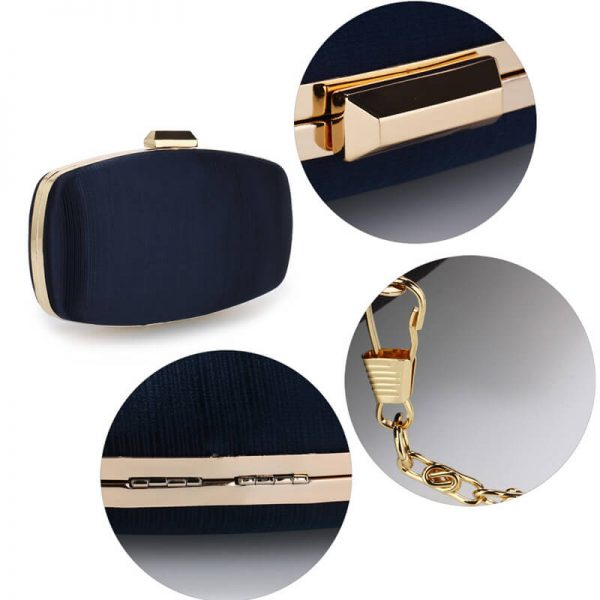 AGC00354 – Navy Satin Evening Clutch Bag_5_