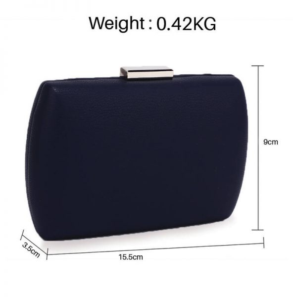 AGC00358 – Navy Hard Case Evening Clutch Bag_2_