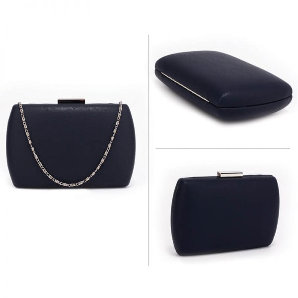 AGC00358 – Navy Hard Case Evening Clutch Bag_3_