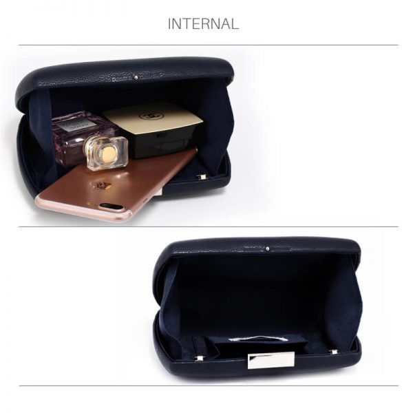 AGC00358 – Navy Hard Case Evening Clutch Bag_4_