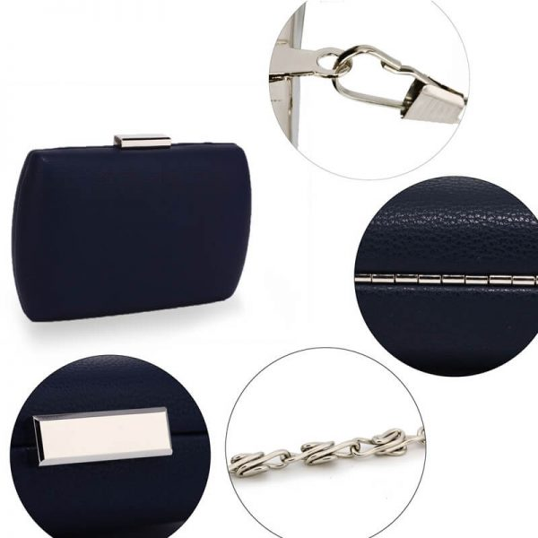 AGC00358 – Navy Hard Case Evening Clutch Bag_5_