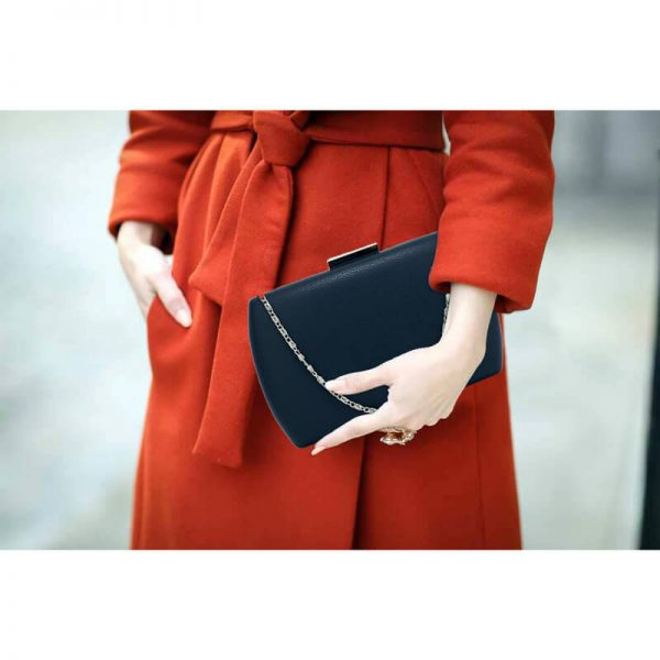 AGC00358 – Navy Hard Case Evening Clutch Bag_6_