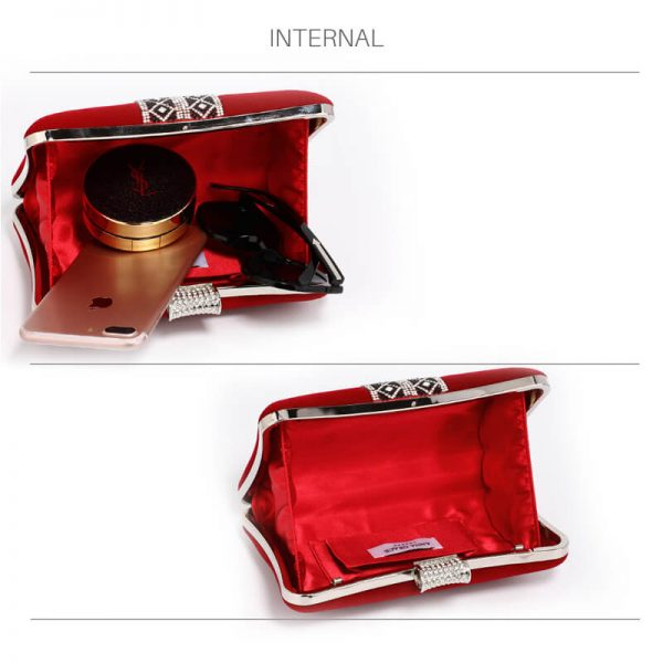 AGC00359 – Red Sparkly Crystal Evening Clutch Purse_4_