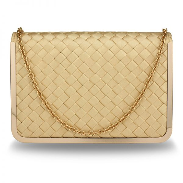 AGC00369 – Gold Flap Evening Clutch Bag_1_