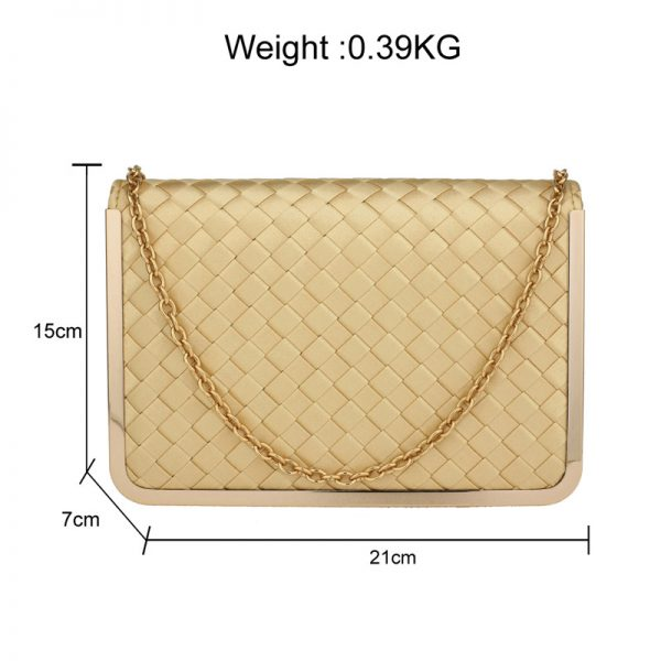 AGC00369 – Gold Flap Evening Clutch Bag_2_