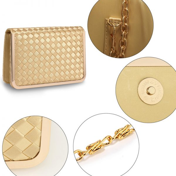 AGC00369 – Gold Flap Evening Clutch Bag_5_
