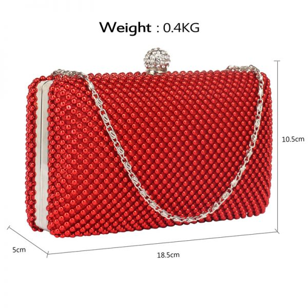 LSE00278 – Red Crystal Beaded Evening Clutch Bag_2_