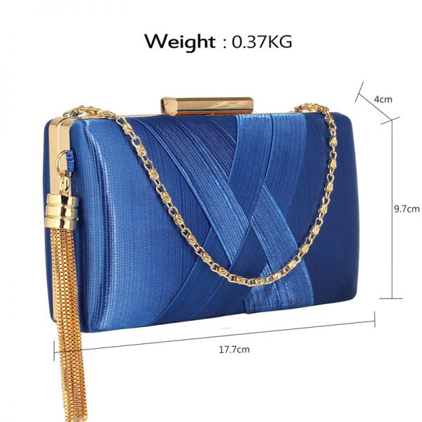 LSE00313 – Blue Tassel Clutch_2_