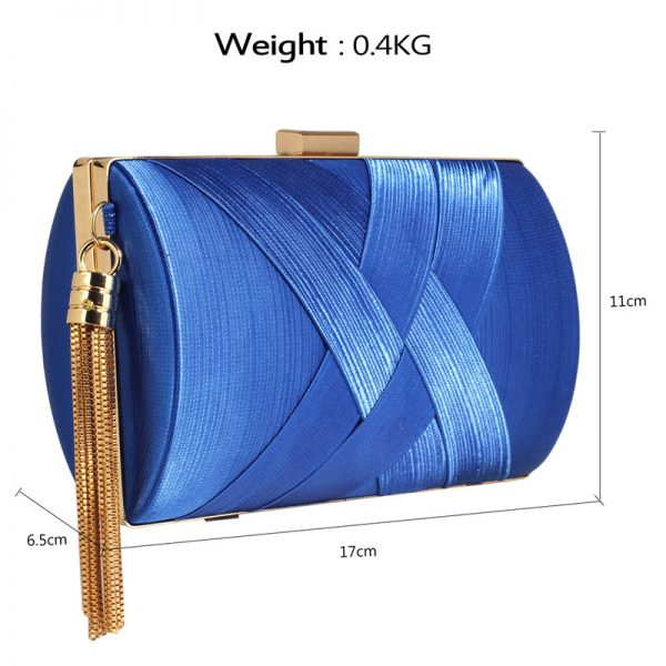 LSE00318 – Blue Tassel Clutch_2_