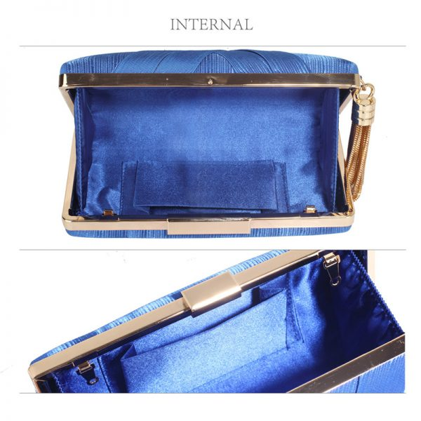 LSE00318 – Blue Tassel Clutch_3_
