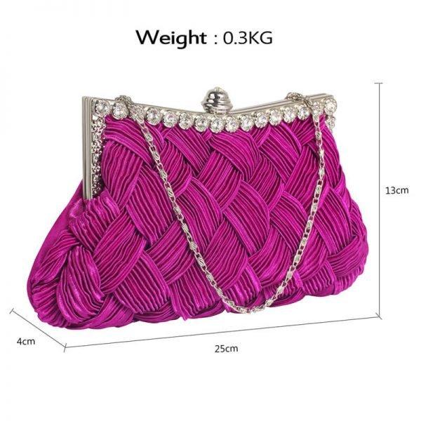 LSE0079 – Purple Crystal Evening Clutch Bag_2_