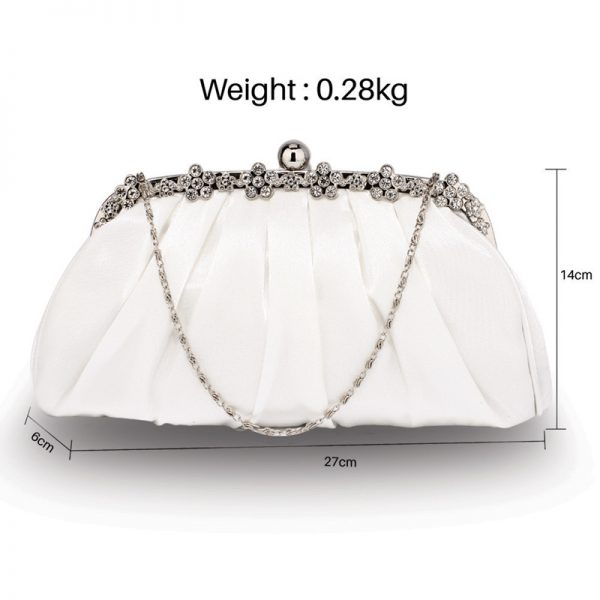 LSE0088 – Ivory Sparkly Crystal Satin Evening Clutch_2_